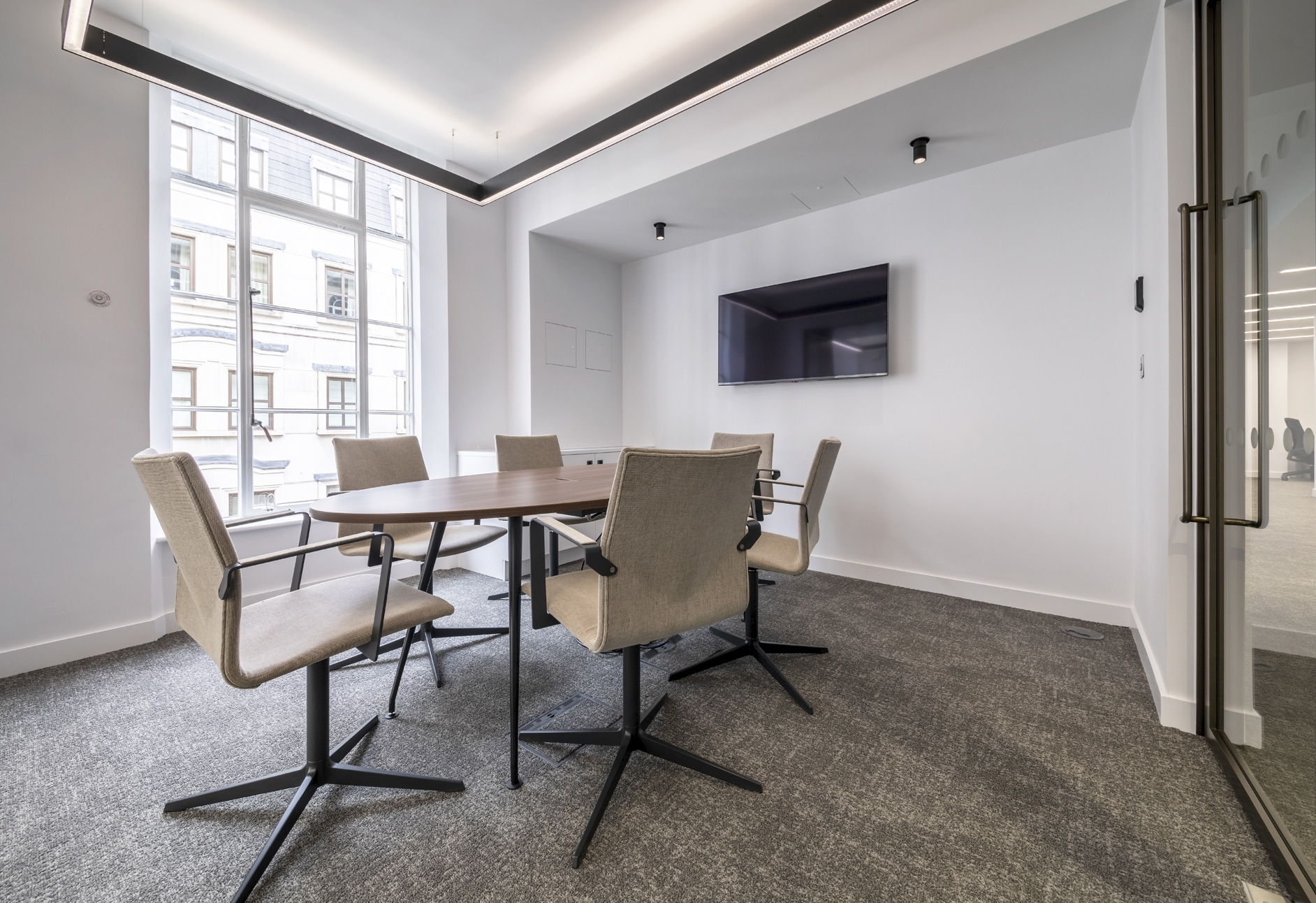 Your own meeting rooms.